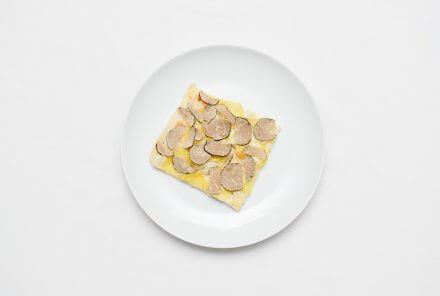 Pizza mit Trüffel