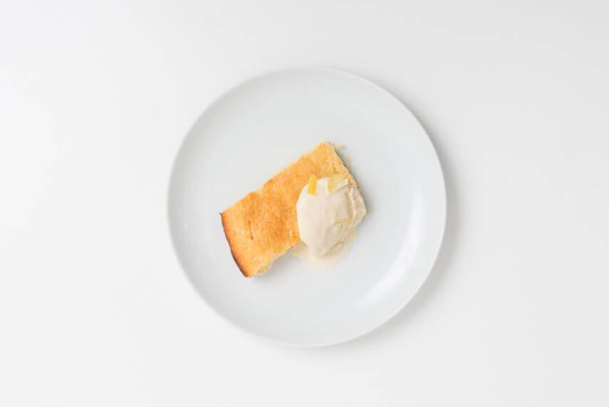 Eis aus Kuchen