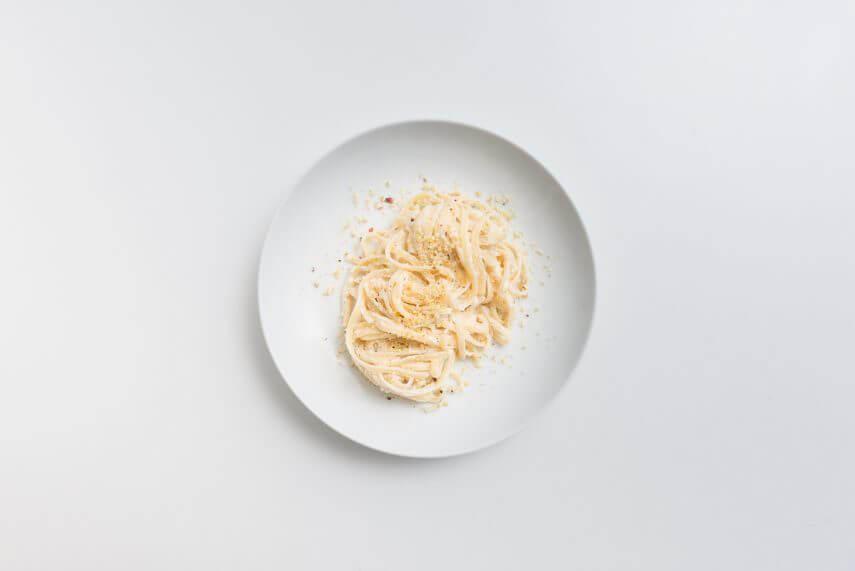 Linguine Pistacchi Mandorle Ricotta