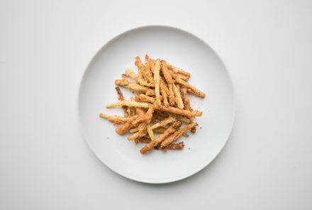 Bohnen frittiert