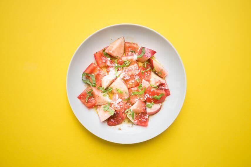 Pfirsich Tomaten