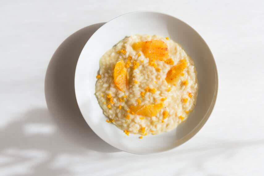 Orangenrisotto