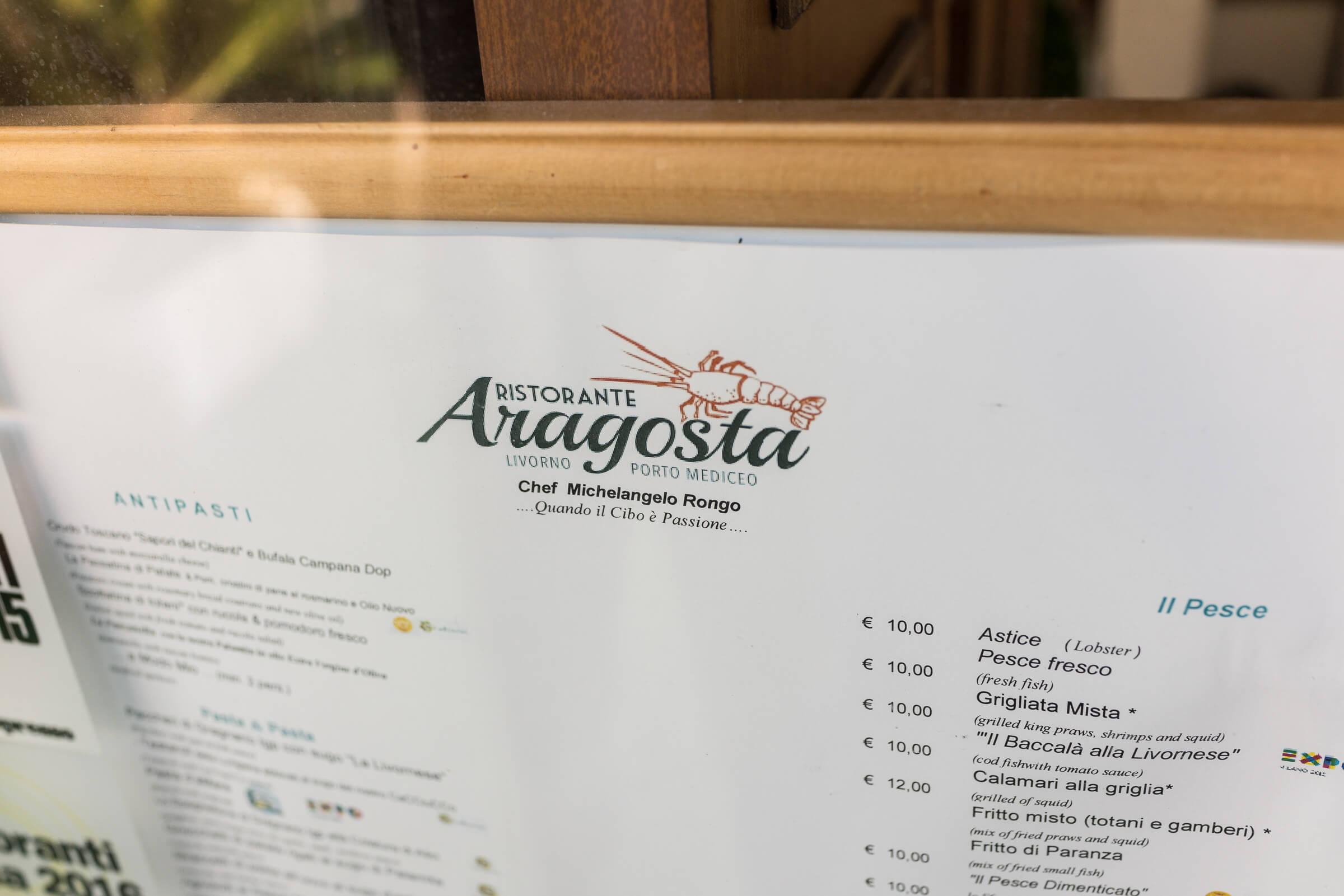 Aragosta Livorno