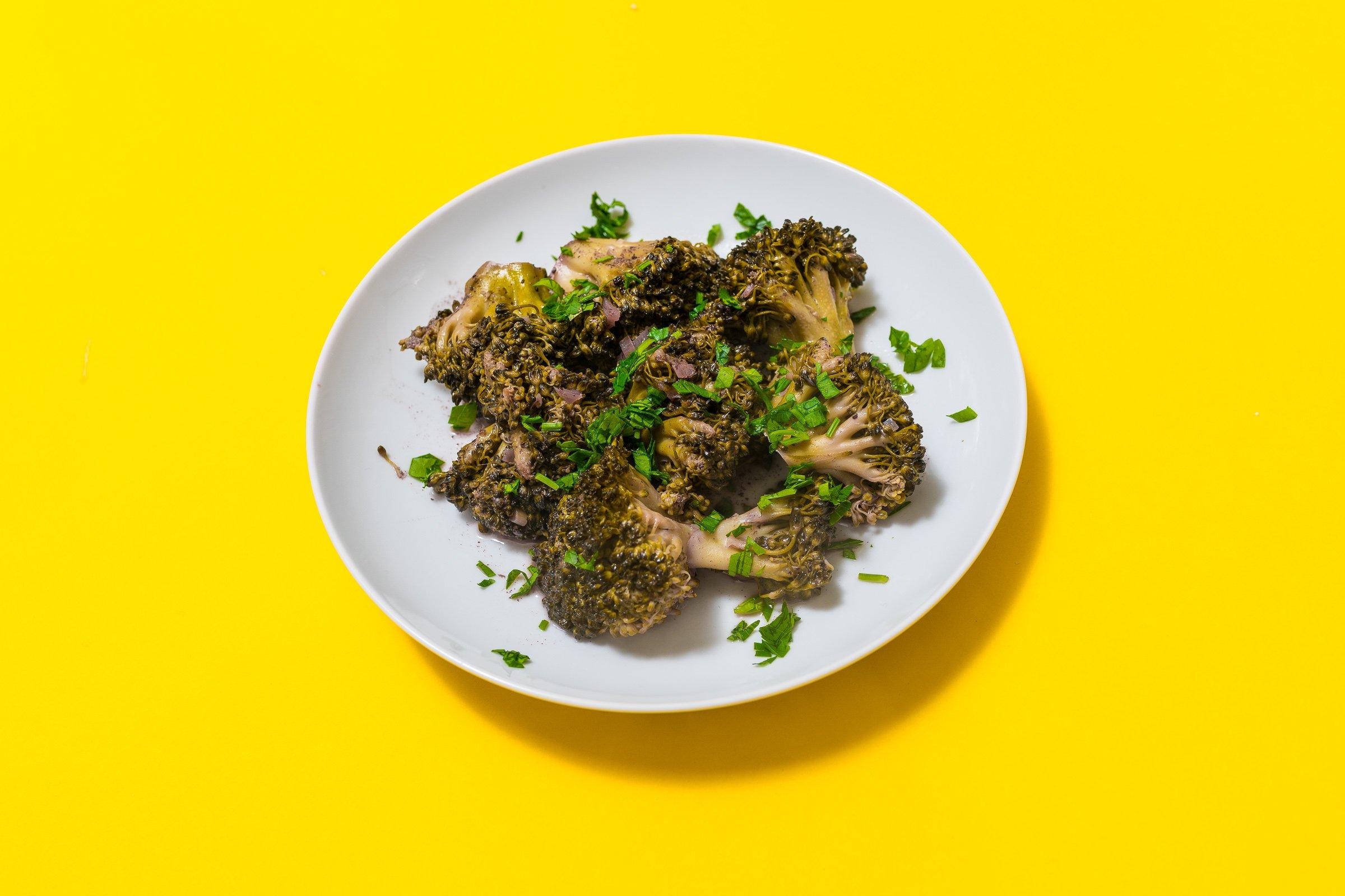 Broccolo affogato
