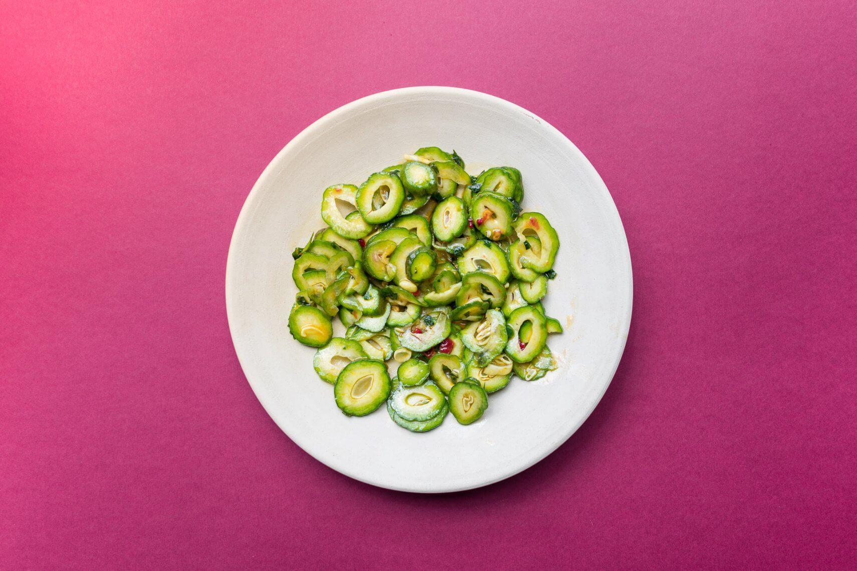 Grüne Mandeln