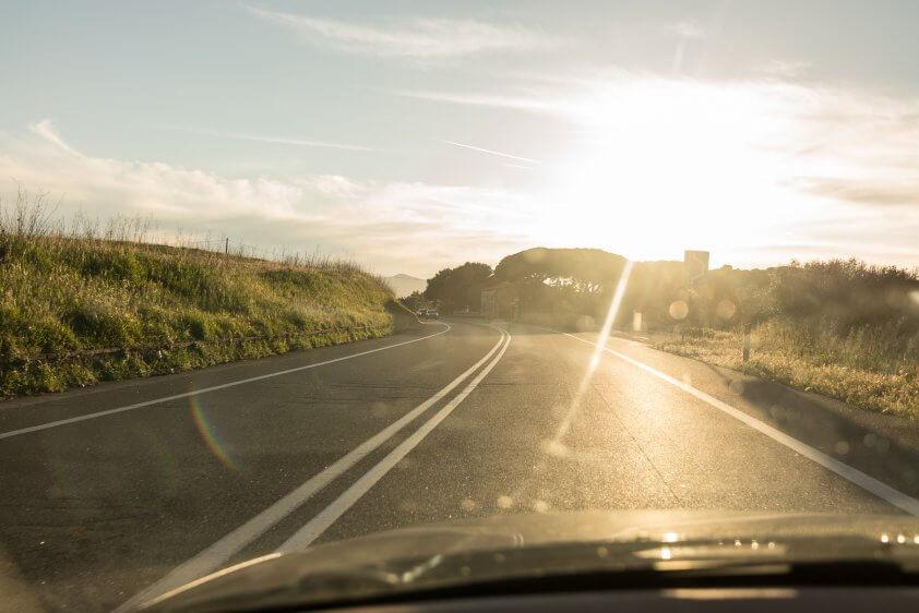 Strada del sole Reise