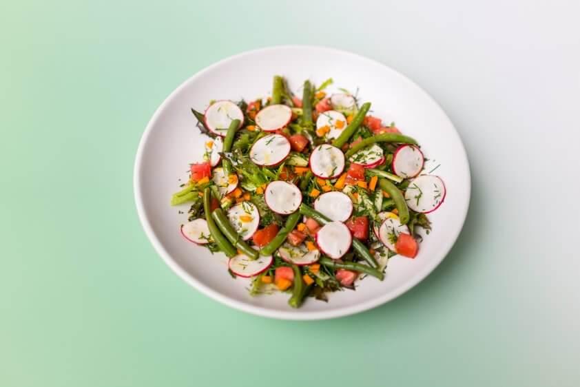 Salat Garten