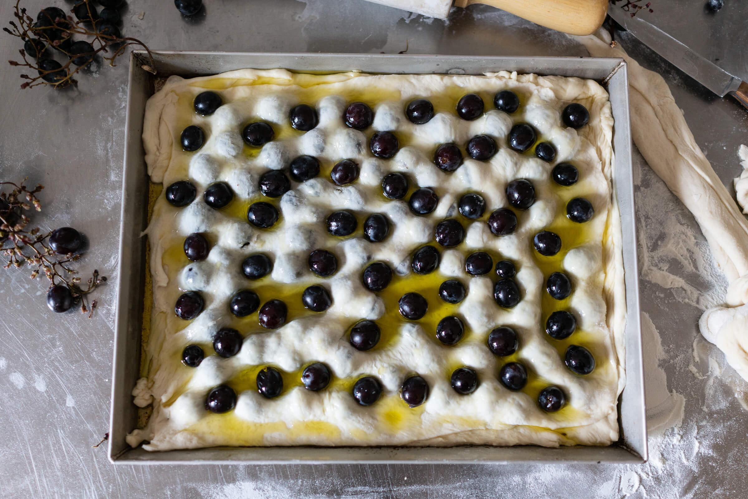 Schiacciata di uva
