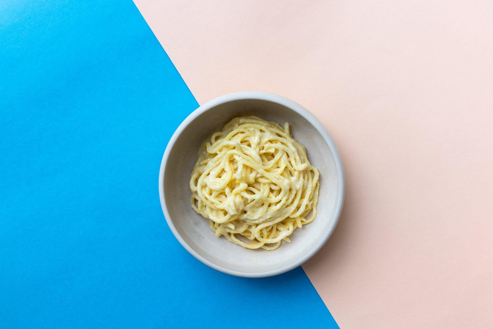 Pasta mit Zitrone und Butter