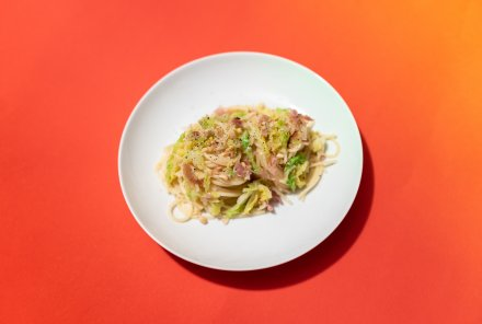 Spaghetti Speck Wirsing