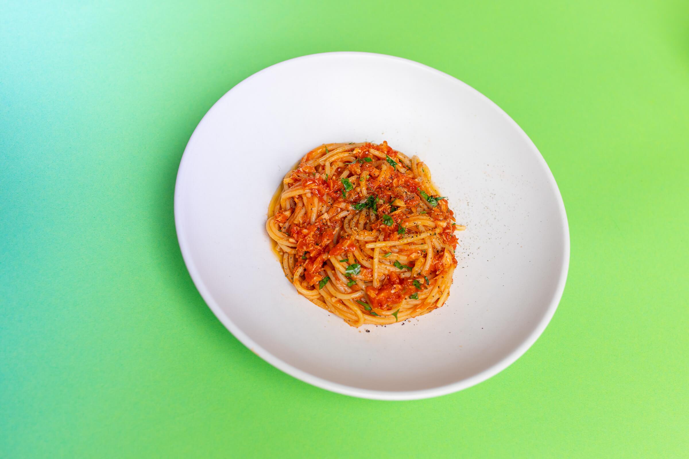 Thunfisch Spaghetti